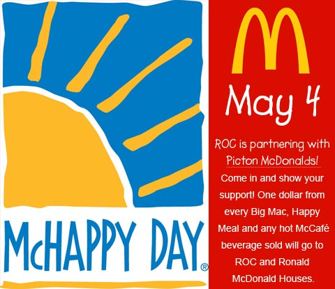 McHappy Day, May 4, 2016